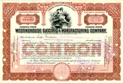 Westinghouse Electric and Manufacturing Company 1930's