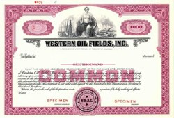 Western Oil Fields, Inc. - Colorado