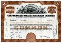 Western Pacific Railroad Company - California