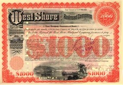 West Shore Railroad Company 1893 - Bond Payable in 2361