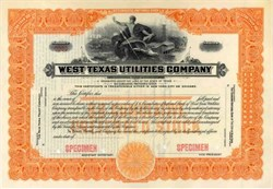 West Texas Utilities Company ( Now AEP - American Electric Power )