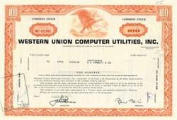 Western Union Computer Utilites, Inc.