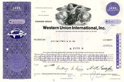 Western Union International, Inc. - Delaware 1968