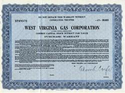West Virginia Gas Corporation - West Virginia 1927