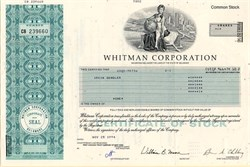 Whitman Corporation (Now PepsiAmericas, Inc) - Delaware 1994