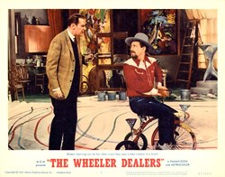 The Wheeler Dealer Lobby Card Starring James Garner and Lee Remick - 1963