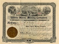 White Horse Mining - Arizona 1908