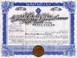 Whole Grain Wheat Company 1917 - Arizona