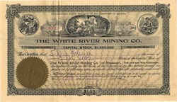 White River Mining Co.(of Missouri)  - Arizona 1905