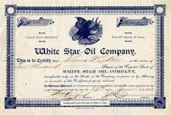 White Star Oil Company - Utah 1903