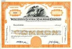 Wisconsin Central Railroad Comapany - Minnesota