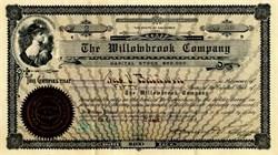Willowbrook Company - California 1904