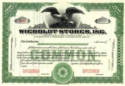Wieboltot Stores, Inc.