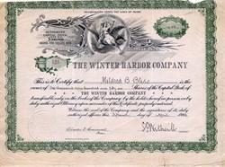 Winter Harbor Company - Winter Harbor, Maine 1913