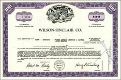 Wilson-Sinclair Company