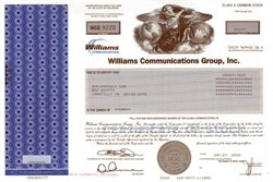 Williams Communications Group, Inc. (acquired by Level 3 Communications ) - 2002