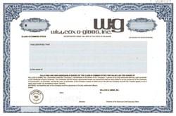 Willcox & Gibbs, Inc.
