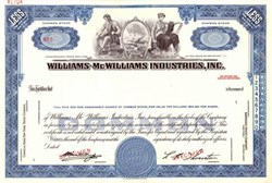 Williams - McWilliams Industries, Inc.
