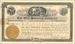 Will Smelting Company 1906 - Territory of Arizona