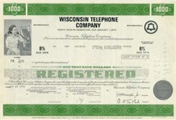 Wisconsin Bell Telephone Company Bond