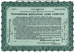 Winchester Repeating Arms Company - Delaware 1929