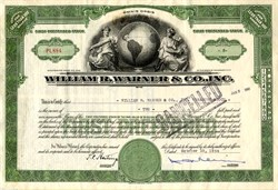 William R. Warner & Co., Inc. ( Became Warner-Lambert) - Delaware 1944