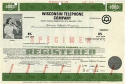 Wisconsin Telephone Company 1974