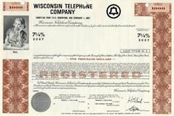 Wisconsin Telephone Company - 1971