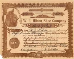 Hilton Shoe Company 1906 - Brooklyn, New York