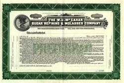 W.J. McCahan Sugar Refining & Molasses Company - Delaware 1935