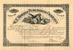 W.F. Morris Publishing Company (Baldwinsville Gazette Newspaper)  - Baldwinsville, New York 1895