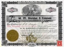 W. M. Sheridan & Company - Arizona 1915