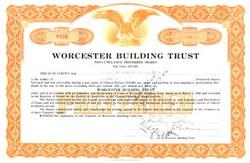 Worcester Building Trust - 1936 - Massachusettes
