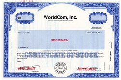 WorldCom, Inc. (Bernie Ebbers as President and Scott D. Sullilvan as Secretary) - Georgia
