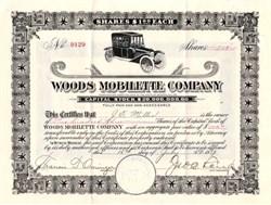 Woods Mobilette Company - Arizona 1917