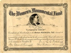 Women's Monumental Fund - Kentucky 1901