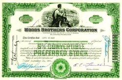 Woods Brothers Corporation (Dam Vignette) - Hoover  Dam Bidder - 1930's