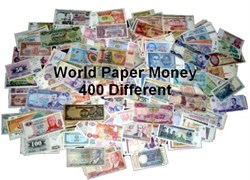 WORLD PAPER MONEY COLLECTION - 400 All Different !!!