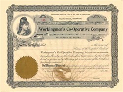 Workingmen's Co-Operative Company 1903
