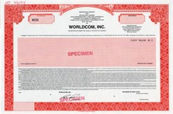 Worldcom, Inc. - Depository Receipt - 1996