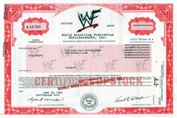 World Wrestling Federation Entertainment, Inc. ( WF )