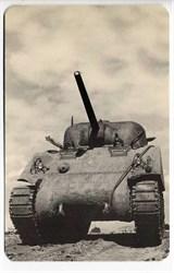 World War II Defense Bond Ford Motor Company Post Card  - Tank 1941