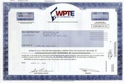 World Poker Tour Enterprises (WPTE) - Delaware