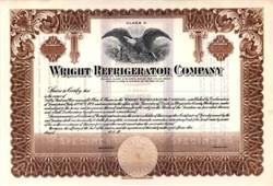 Wright Refrigerator Company - Chicago