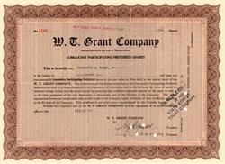 W.T. Grant Company 1922