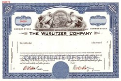 Wurlitzer Company - Famous Jukebox Maker