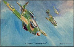 WWll Hawker Hurricane