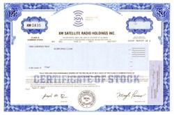 XM Satellite Radio Holdings Inc