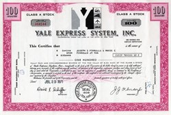 Yale Express System, Inc. - Famous Bankruptcy Case - 1971