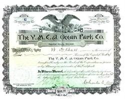 Y.M.C.A. Ocean Park Company - Santa Monica, California 1894